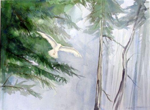 White_Bird_Flying